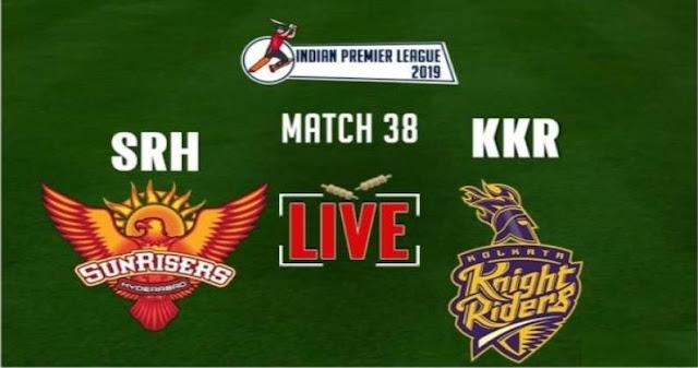 VIVO IPL 2019 Match 38 SRH vs KKR Live Score and Full Scorecard