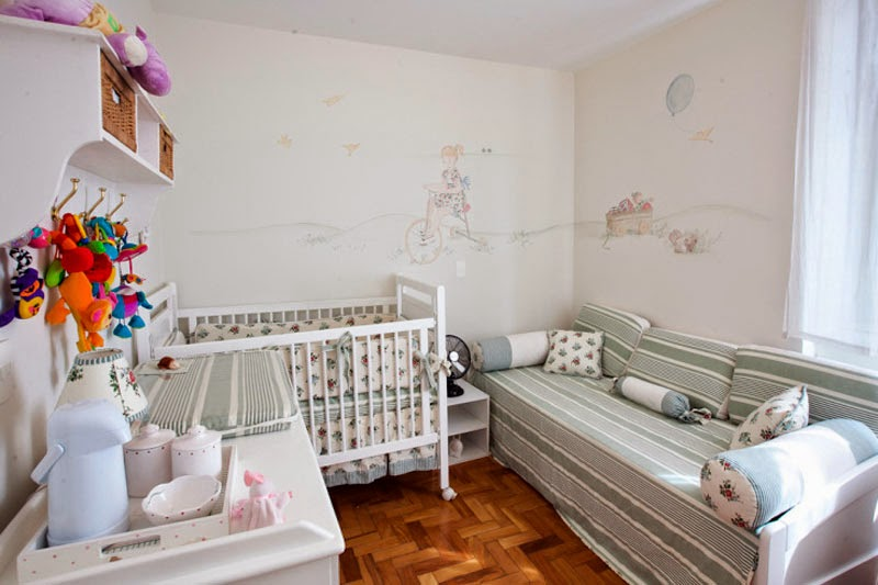 Dormitorio pequeño de bebé