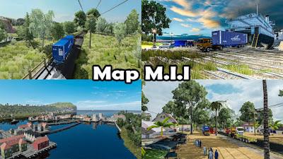 MAP M.I.I Rebuild ETS2 1.30 to 1.37