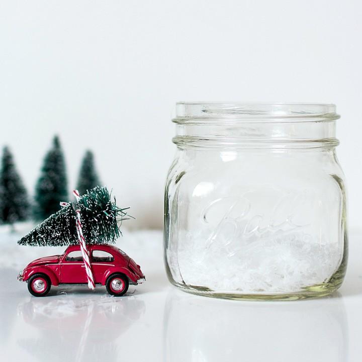 6 Diy adornos de navidad con un tarro