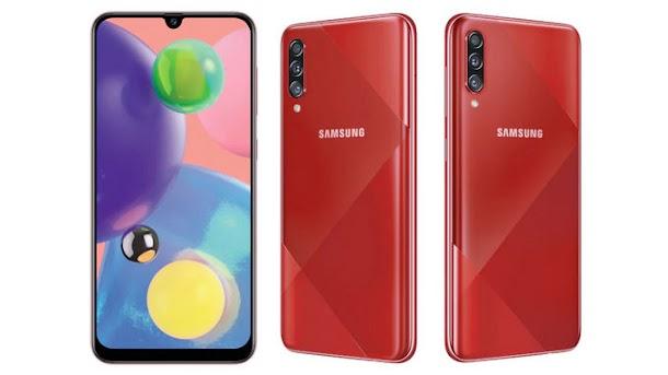 Samsung Galaxy A70s Resmi Dirilis dengan Kamera Beresolusi 64 MP