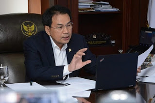 Wakil Ketua DPR RI, M. Azis Syamsuddin.