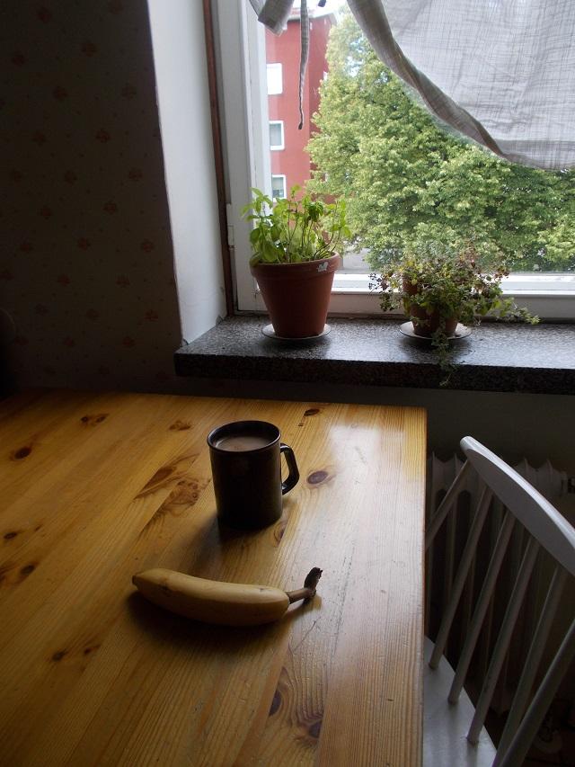 Banaani naamio, banaaninkuori akne