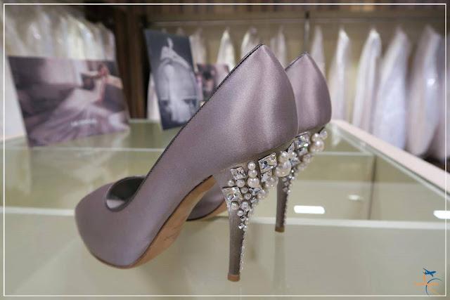 Sapato de noiva na SAX Department