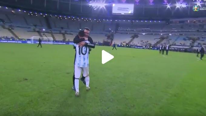 Brazil 0-1 Argentina /Copa America