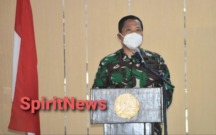 Kasrem, Membuka Acara Pembekalan Jurnalistik di Jajaran Korem 141/Tp