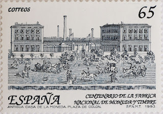 CENTENARIO DE LA CREACIÓN DE LA FÁBRICA NACIONAL DE MONEDA Y TIMBRE