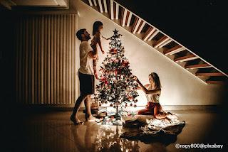 Famiglia riunita per Natale