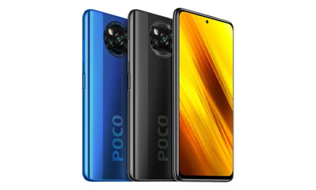 ألوان هاتف POCO X3