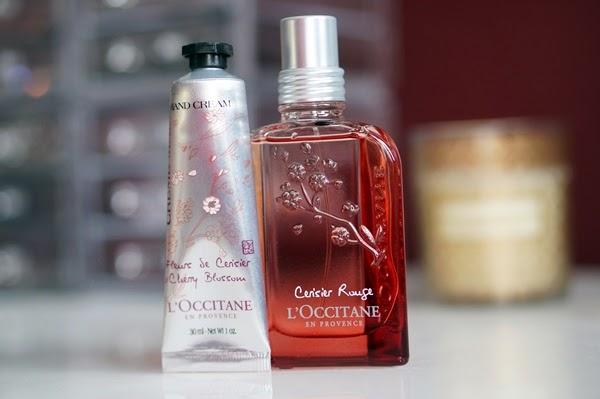 L'Occitane | Cerisier Rouge Eau Intense & Cherry Blossom Crème Mains