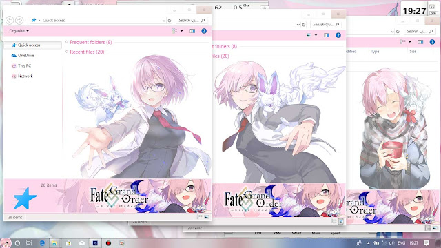 Fate/Grand Order: First Order Theme Win 10 Ver. 1709 by Enji Riz Lazuardi