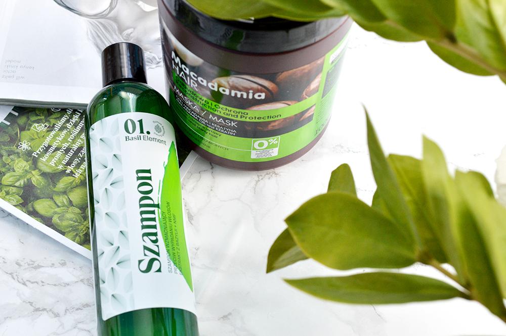 pielęgnacja włosów elfa pharm szampon maska