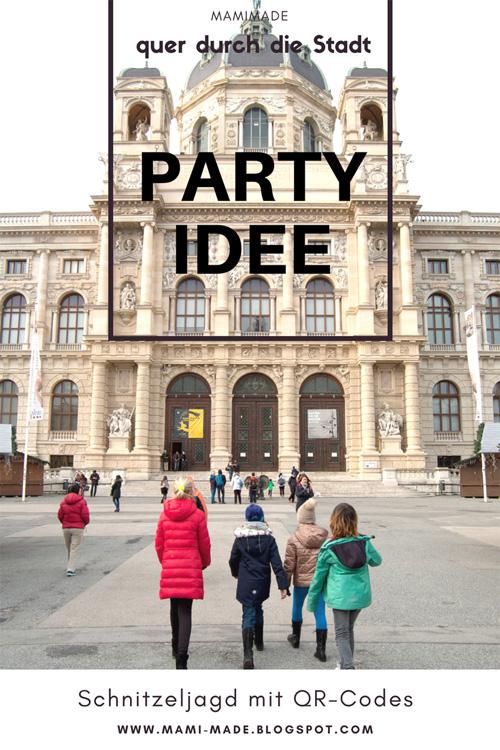 QR-Codes, Kindergeburtstag, Party