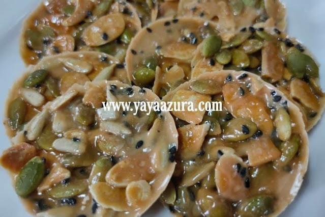 Resepi Almond Crunchy Florentine