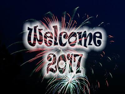 Welcome 2017 Firework Wallpaper
