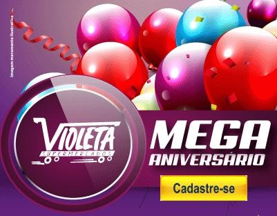 Cadastrar Aniversário 2020 Violeta Supermercados 24 Anos - Carro 0KM e Vales-Compras 500 Reais