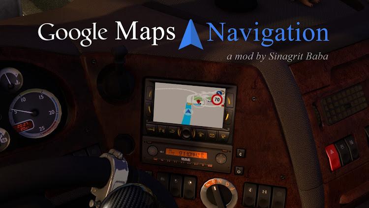 cover ets 2 google maps navigation