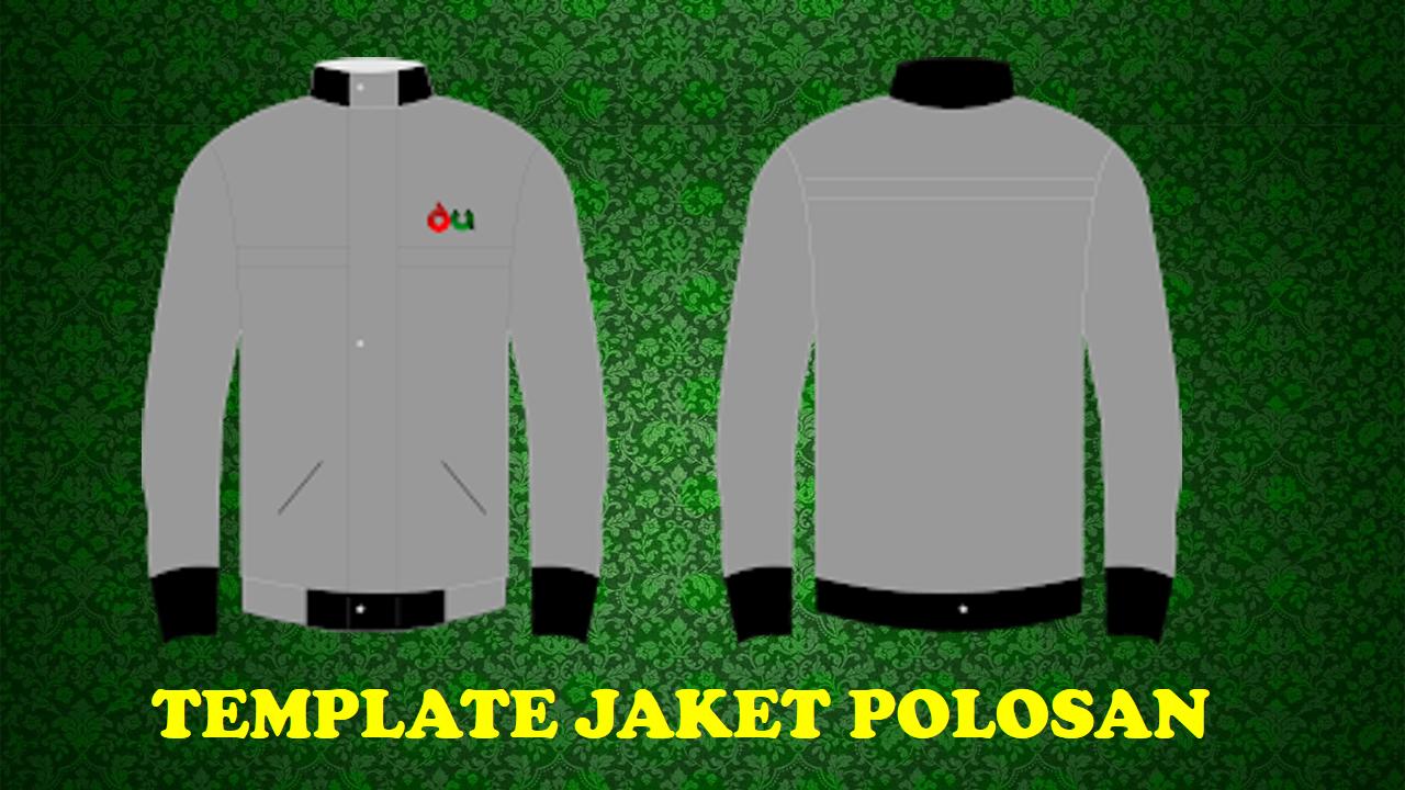 Desain Template Jaket Polos Format Cdr Versi Hd Forum Desain