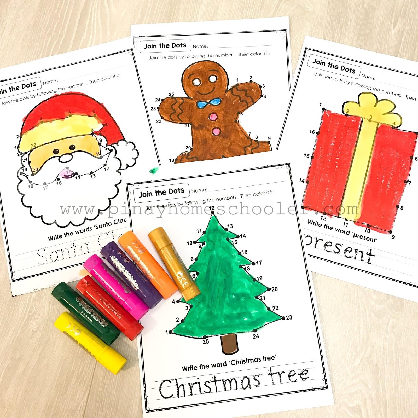 The Pinay Homeschooler Coloring Worksheets