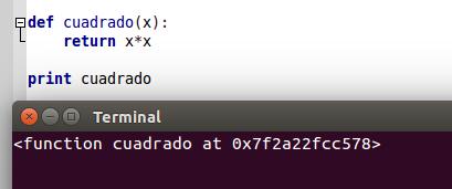 Ubicación del objeto en Python
