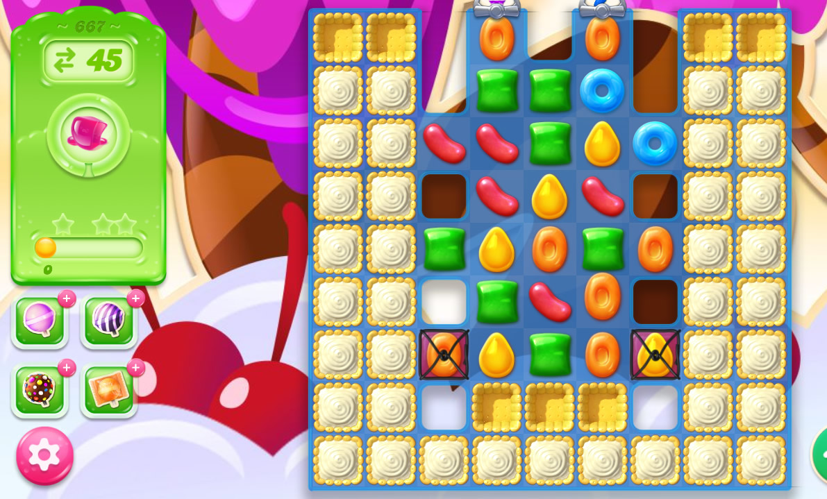 Candy Crush Jelly Saga level 667