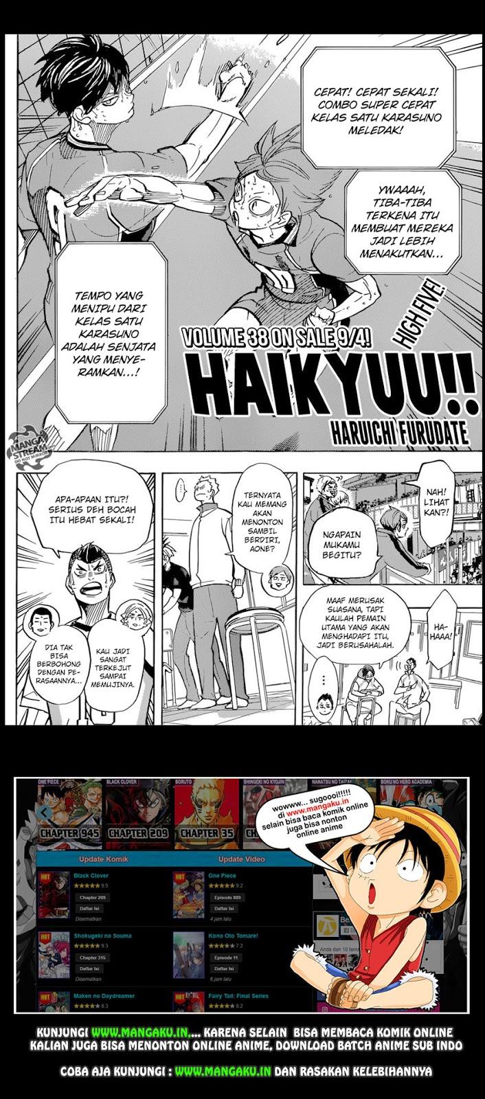 Haikyu: Chapter 362 - Page 2