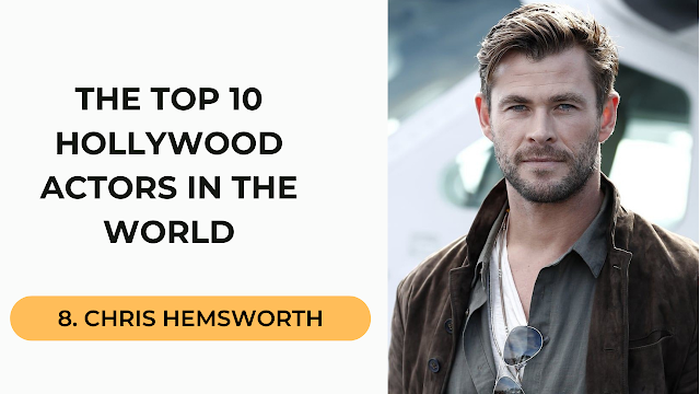 Chrise Hemswoth Top 10 Hollywood Actors in the World