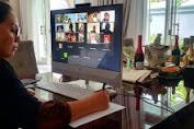 Ibu Rita Dondokambey-Tamuntuan Ikuti Rapat Persiapan Rakernas Dekranas 2021