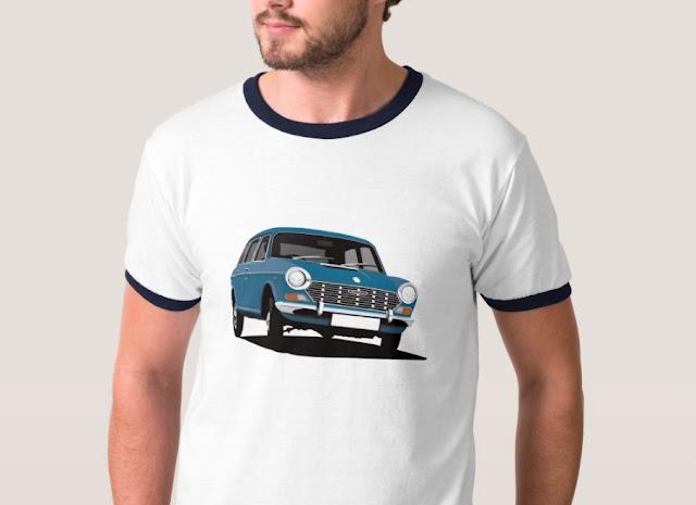 Austin 1800 - 2200 ado17 - blue - vintage cars