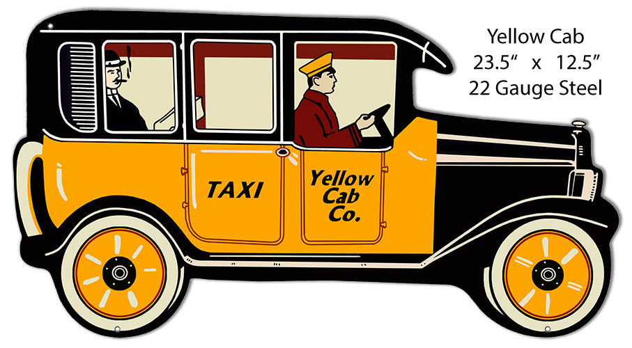 BOTTLES, BOOZE, AND BACK STORIES: The Yellow Cab — Then and Now