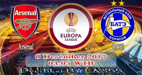 Prediksi Bola855 Arsenal vs BATE Borisov 8 Desember 2017