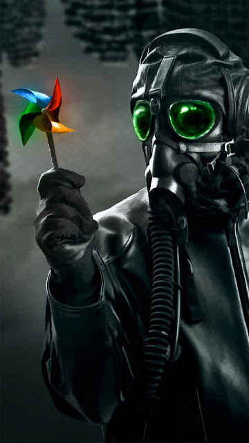 11 Mask, Anonymous, Neon, Hood, Color Smoke HD Wallpapers 4K 5K for iPhone and Android