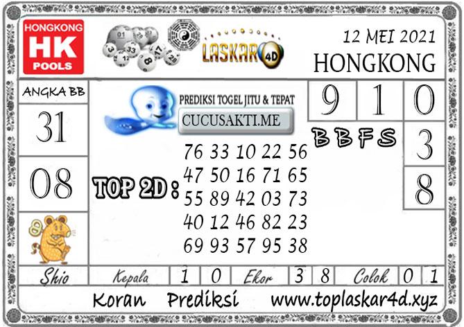 Prediksi Togel HONGKONG POOLS LASKAR4D 12 MEI 2021