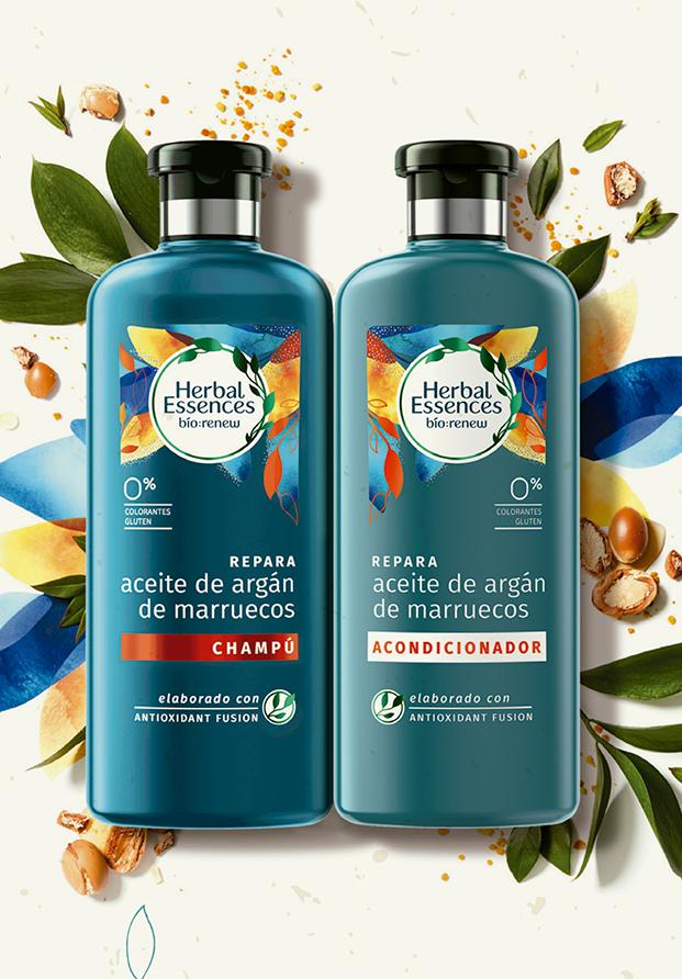 Bio:renew, lo nuevo de Herbal Essences para cuidar el cabello