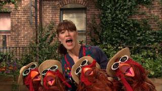 Celebrity, Feist sings song 1 2 3 4, Sesame Street Episode 4315 Abby Thinks Oscar is a Prince season 43