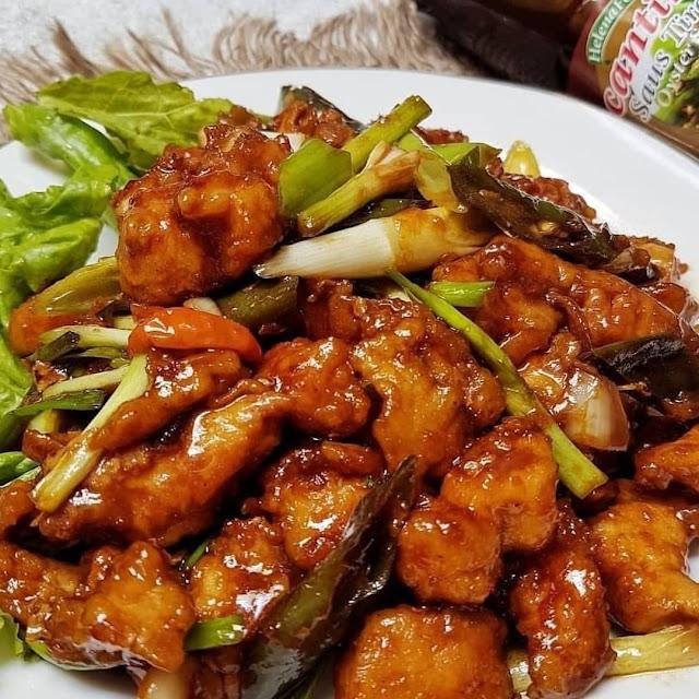 Ayam Fillet Saus Lauk Pas Untuk Keluarga