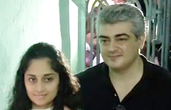 TN Election 2016: Actor Ajith casting his vote with Shalini