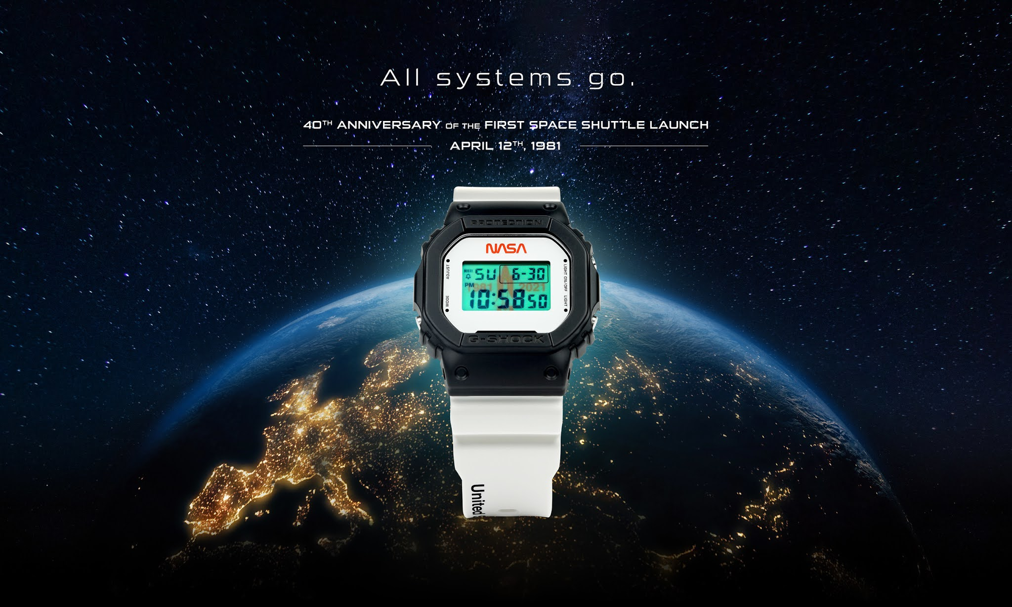 Casio Unveils New, Limited-Edition G-SHOCK Timepiece That Celebrates The 40th Anniversary Of First Space Shuttle Launch