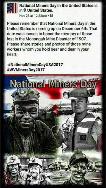 National Miners Day Wishes Images download
