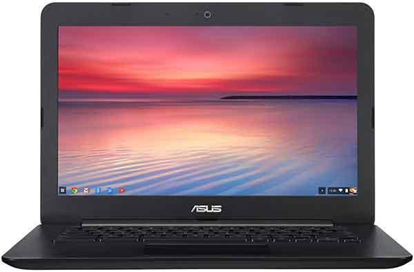 Laptop untuk mahasiswa pelajar - ASUS Chromebook tipe C300MA-DB01