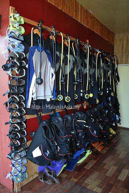 Dive Equipment Seahorse Sipadan Scuba