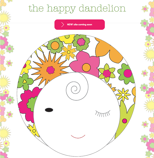 The Happy Dandelion New Website