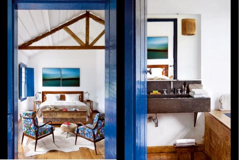 casa brasil dormitorio y cuarto de baño