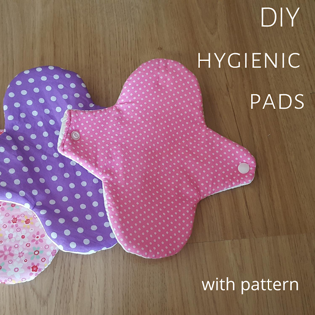 DIY hygienic pads - with pattern
