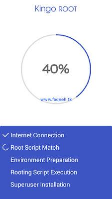 Gagal root dengan KingoRoot sampai di 40%