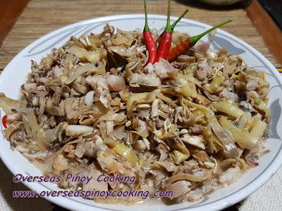 Adobong Puso ng Saging, Banana Blossom Adobo