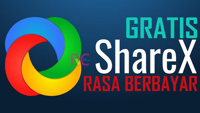 ShareX Rekomendasi Aplikasi Screen Recorder Gratis Rasa Berbayar - Andalan Admin Bikin Tutorial