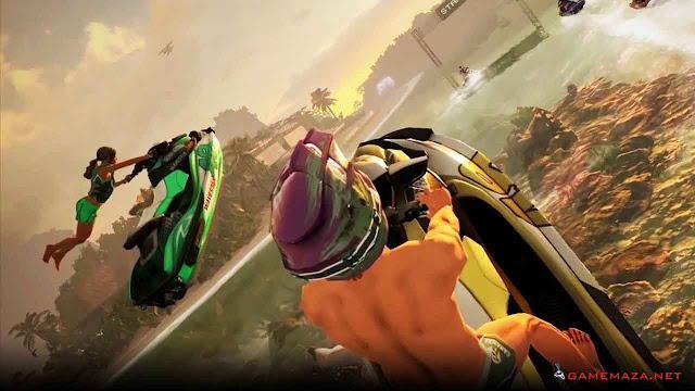 Aqua Moto Racing Utopia Gameplay Screenshot 4
