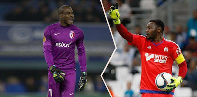 Ibrahimovic crowned best player while Mandanda beats Vincent Enyeama to France's Ligue 1 goalkeeper of the year award