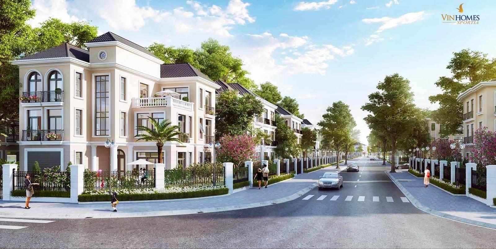Khu nhà ở thấp tầng Vinhomes Smart City Tây Mỗ - Đại Mỗ